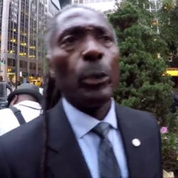 EXCLUSIVE retired NYPD Detective Blasts the NFL w/STRONG words at NYC Kaepernick Rally